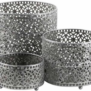 hautelook-eightmood-antique-silver-adila-candle-holder-lantern-outer-pot-set-of-3