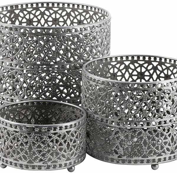 hautelook-eightmood-antique-silver-adila-candle-holder-lantern-outer-pot-set-of-3