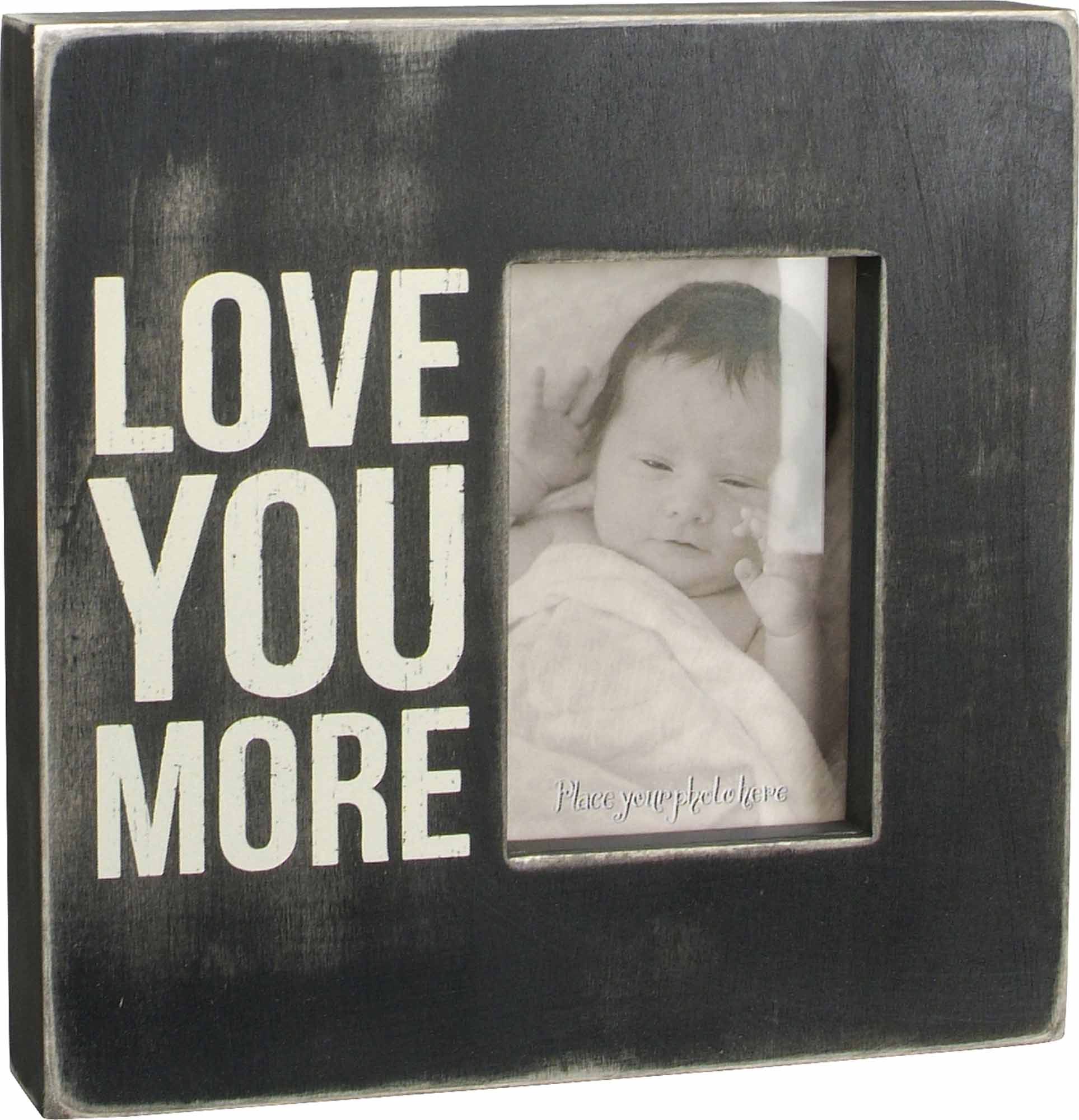 Love You More Box Frame The Market Fergus Falls A Specialty