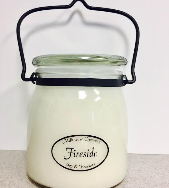 Milkhouse: Fireside 16oz Soy Candle